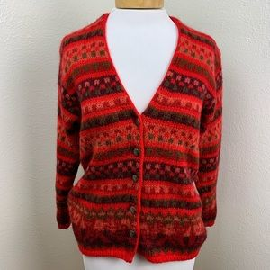 United Colors of Benetton Wool Mohair Cardigan